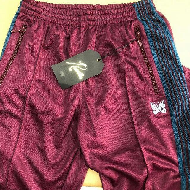 Needles(ニードルス)のNEEDLES メンズ 刺繍 スポーツパンツ mサイズ メンズのパンツ(その他)の商品写真