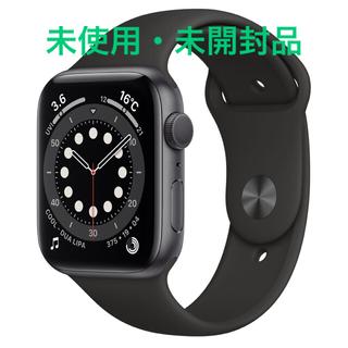 Apple Watch - Apple Watch Series 6(GPSモデル)44mm スペースグレイ