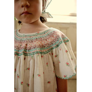Caramel baby&child  - bonjour diary♡butterfly blouse 6Y