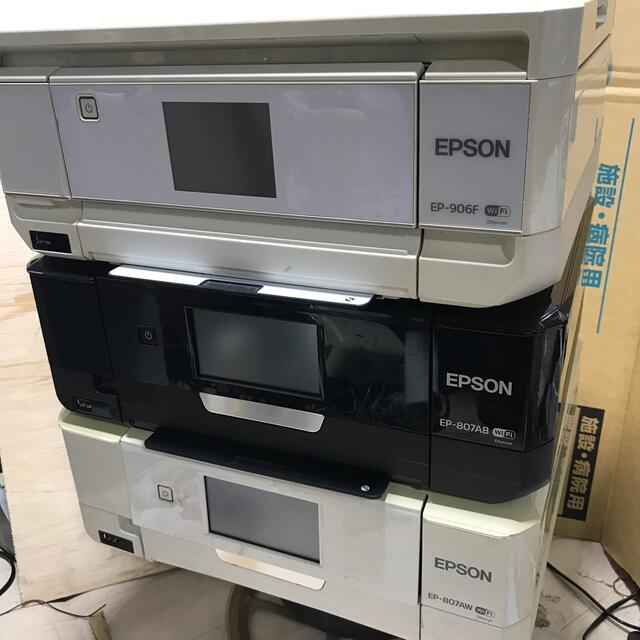 EPSON(エプソン)のepson ep-807ab/aw/906f/ スマホ/家電/カメラのPC/タブレット(PC周辺機器)の商品写真