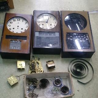 送料込み 振り子掛け時計 ジャンク(掛時計/柱時計)