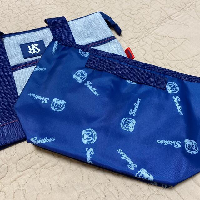 東京ヤクルトスワローズ(トウキョウヤクルトスワローズ)のヤクルトスワローズ 2wayクーラートートバッグ 新品 スポーツ/アウトドアの野球(応援グッズ)の商品写真