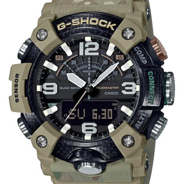 G-SHOCK(ジーショック)のG-SHOCK ジーショック 腕時計 GG-B100BA-1AJR イギリス陸軍 メンズの時計(腕時計(デジタル))の商品写真