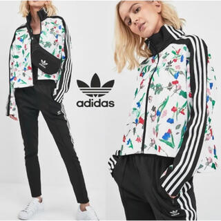 adidas - adidasアディダスジャージ上下花柄AOPTRACKジャケットショートパンツ