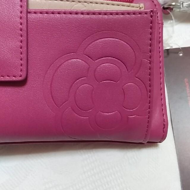 CLATHAS(クレイサス)の未使用クレイサスお財布ショルダー レディースのファッション小物(財布)の商品写真