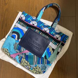 Vivienne Westwood - 【定価4万円】美品 ヴィヴィアンウエストウッド テクトニックデザイントートバッグ