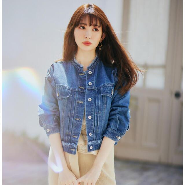 【新品】Herlipto Everyday Denim Jacket メンズのジャケット/アウター(Gジャン/デニムジャケット)の商品写真