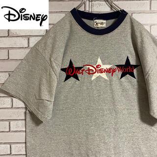 Disney - 90s 古着 ディズニー USA製 刺繍 ビッグシルエット ゆるだぼ
