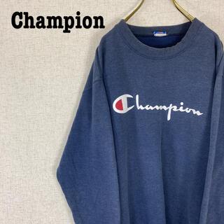 Champion - Campion チャンピオン スウェット トレーナー ビッグロゴ USA製