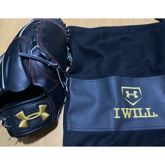 MIZUNO(ミズノ)のミズノプロ 投手用 硬式グラブ スポーツ/アウトドアの野球(グローブ)の商品写真