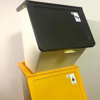 ゴミ箱 3個セット 連結可能 分別 ダストボックス(ごみ箱)