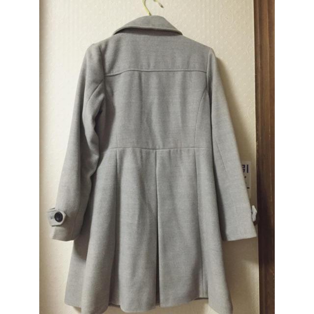 グレーコート レディースのジャケット/アウター(ロングコート)の商品写真