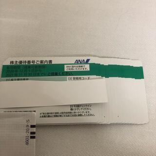 ANA 株主優待券 書留発送(航空券)