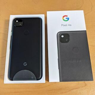 Google Pixel - Google Pixel 4a simフリー Just Black ほぼ新品