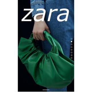 ZARA - ZARA レザーバケットバッグ