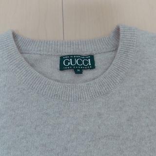 Gucci - GUCCI カシミア100% ニット
