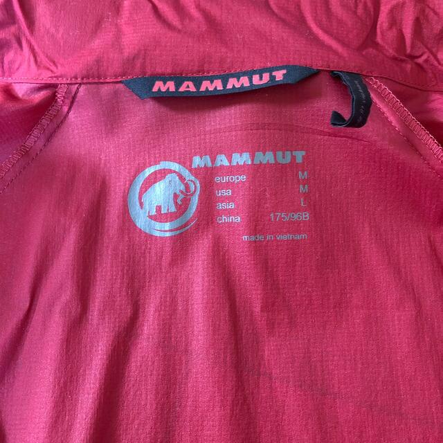 Mammut(マムート)のマムート  ウィンドブレーカーメンズL メンズのジャケット/アウター(ナイロンジャケット)の商品写真