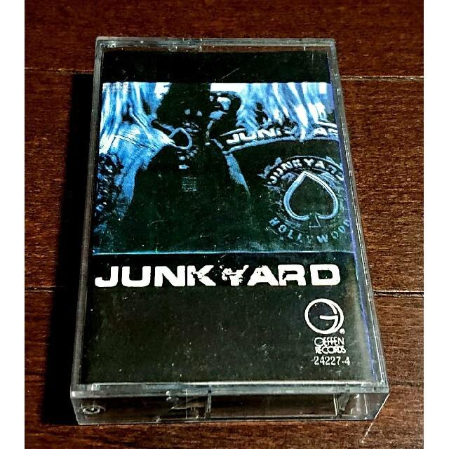 《カセットテープ》ジャンクヤード エンタメ/ホビーのCD(ポップス/ロック(洋楽))の商品写真