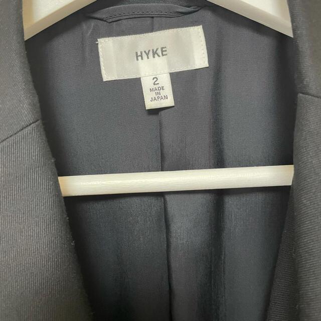 HYKE(ハイク)のHYKE レディースのジャケット/アウター(チェスターコート)の商品写真