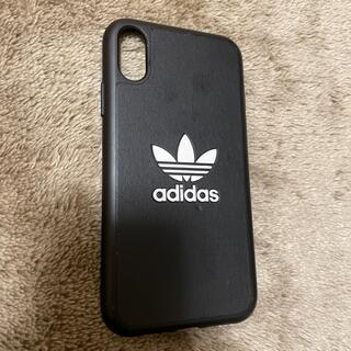 アディダス(adidas)のiPhone XRケース アディダスブラック(iPhoneケース)
