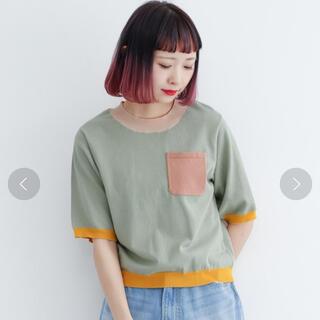merlot - merlot  半袖ニット カットソー