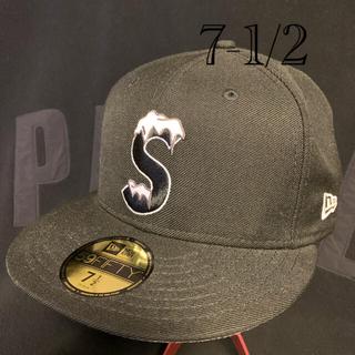 シュプリーム(Supreme)の中古 Supreme S logo New Era  Cap 7 1/2(キャップ)