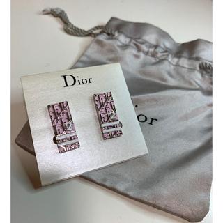 クリスチャンディオール(Christian Dior)のChristian Dior クリスチャン ディオール トロッター柄イヤリング(イヤリング)