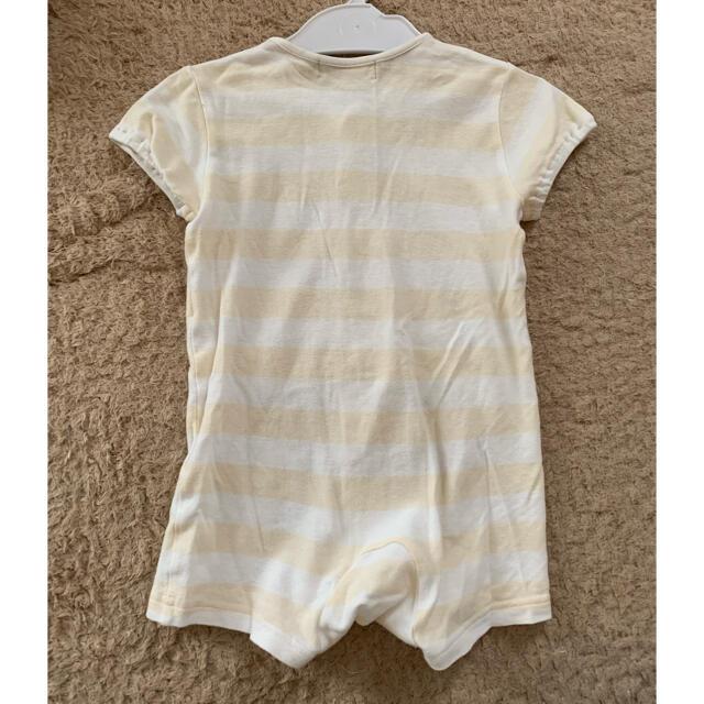 BURBERRY(バーバリー)のバーバリー 半袖ロンパース 夏物 キッズ/ベビー/マタニティのベビー服(~85cm)(ロンパース)の商品写真