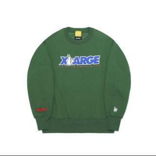 XLARGE - XLARGE FR2 スウェット緑 Mサイズ