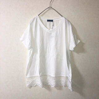 新品未使用 a.g.plus カットソー Tシャツ