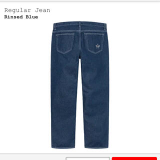 Supreme - Supreme Regular Jean 30 Rinsed Blue