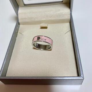 Christian Dior - Christian Dior クリスチャン ディオール シルバー ピンクのリング