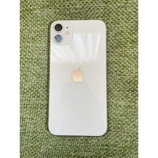 Apple - iPhone11 ホワイト 64GB SIMフリー