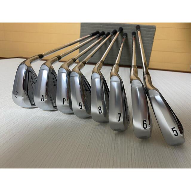 Srixon(スリクソン)のスリクソン ZX5 アイアンセット(5i~SW 8本セット) スポーツ/アウトドアのゴルフ(クラブ)の商品写真