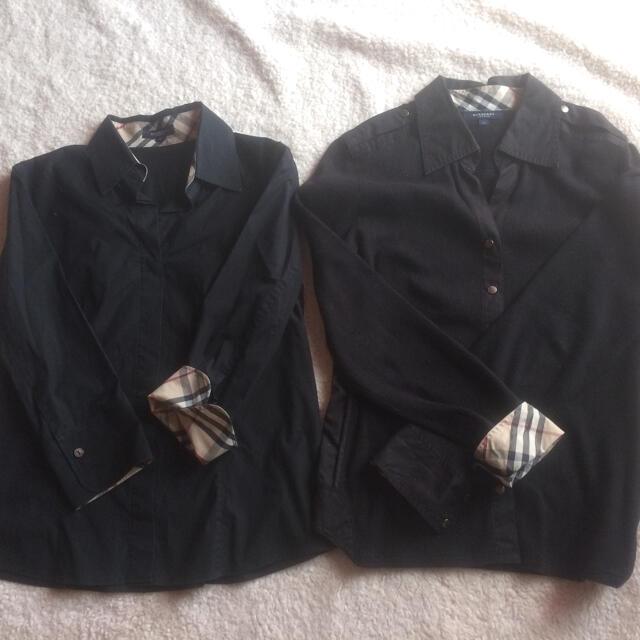 BURBERRY(バーバリー)のバーバリー ロンドン シャツ2枚セット 三陽商会  レディースのトップス(シャツ/ブラウス(長袖/七分))の商品写真