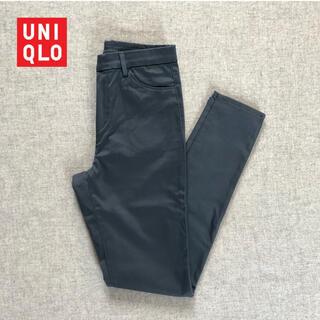 UNIQLO - 【 UNIQLO 】ストレートスリムパンツ ストレッチ 新品