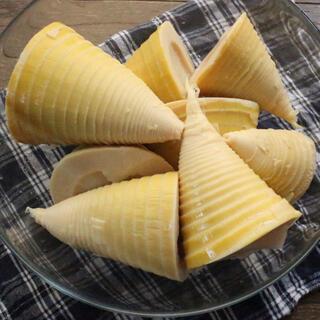 朝掘り・釜炊き筍 水煮 真空パック 1kg (野菜)