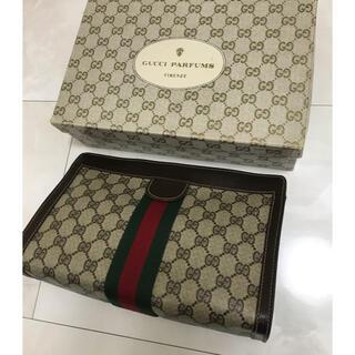 Gucci - 美品✨オールドGUCCI シェリーライン クラッチバッグ