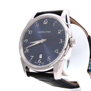 ハミルトン(Hamilton)の【HAMILTON】ハミルトン 時計 'シンライン' ネイビー文字盤 ☆美品☆(腕時計(アナログ))