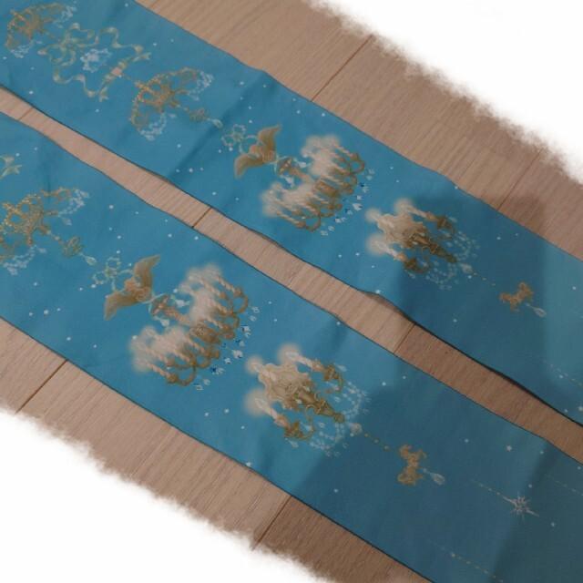 Angelic Pretty(アンジェリックプリティー)のAngelic Pretty シャンデリア柄タイツ 未使用 レディースのレッグウェア(タイツ/ストッキング)の商品写真