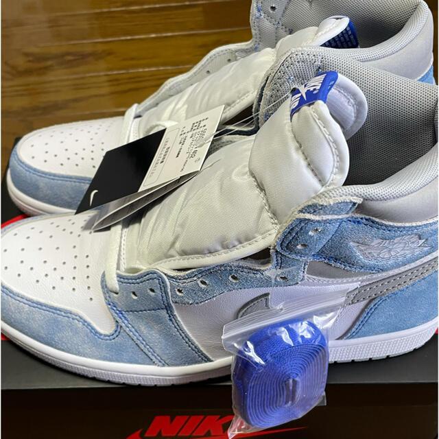 NIKE(ナイキ)のNIKE  JORDAN 1 RETRO HIGH OG HYPER ROYAL メンズの靴/シューズ(スニーカー)の商品写真