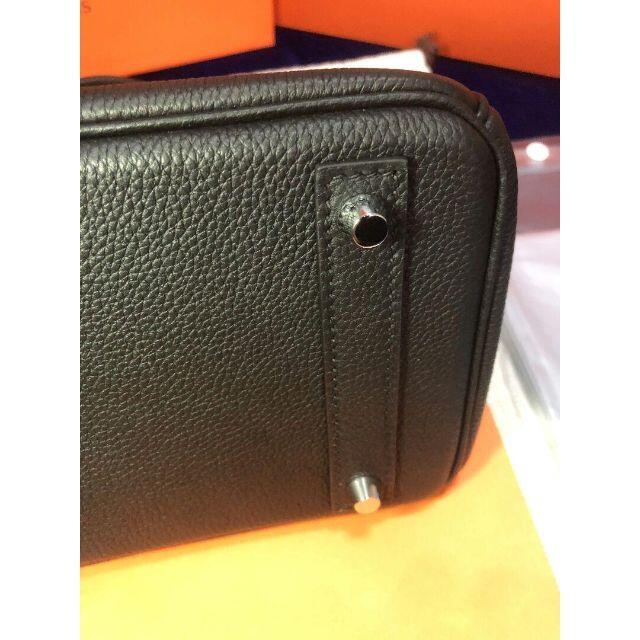 Hermes(エルメス)のエルメス バーキン25 ブラック 希少なシルバー金具 レディースのバッグ(ハンドバッグ)の商品写真