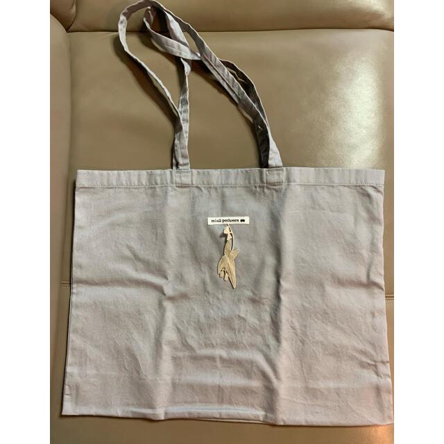 mina perhonen(ミナペルホネン)のmao様専用 ミナペルホネン   エコバッグ ショップバッグ グレー中  レディースのバッグ(エコバッグ)の商品写真