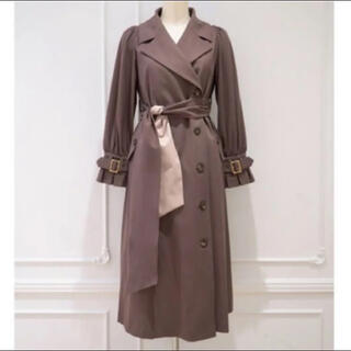 snidel - Herlipto Belted Dress Trench Coat