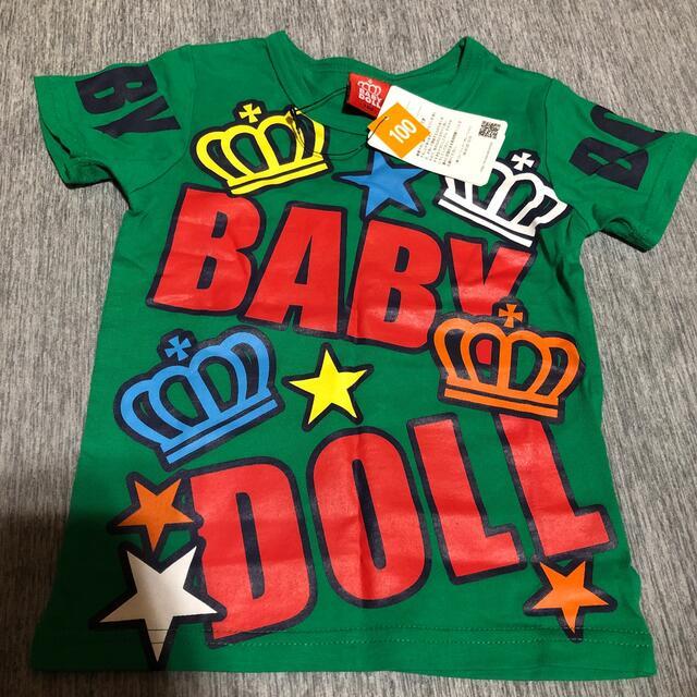 BABYDOLL(ベビードール)のTシャツ 100センチ キッズ/ベビー/マタニティのキッズ服男の子用(90cm~)(Tシャツ/カットソー)の商品写真