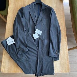 TAKEO KIKUCHI - タケオキクチ  ストレッチ セットアップ スーツ L グレー ウォッシャブル