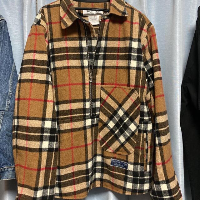 PEACEMINUSONE(ピースマイナスワン)のwe11done ハーフジップジャケット g-dragon メンズのジャケット/アウター(その他)の商品写真