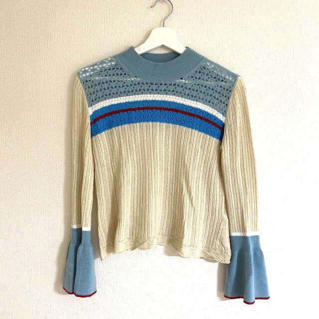 mame(マメ)のmame kurogouchi ニットトップス レディースのトップス(ニット/セーター)の商品写真
