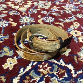 ジョンローレンスサリバン(JOHN LAWRENCE SULLIVAN)のVINTAGE animal pattern HARAKO belt(ベルト)