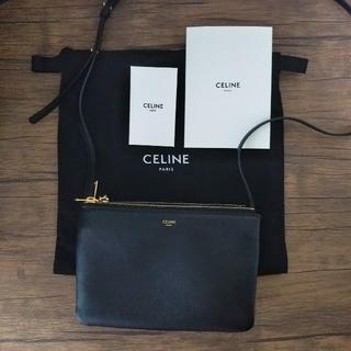 celine - 使用期間一年未満 CELINE トリオ スモール ブラック